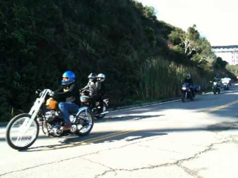 San Francisco Motorcycle Run Halloween 2010