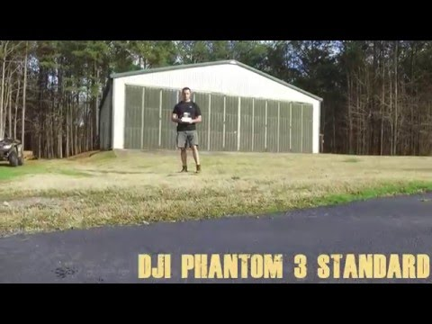 DJI Phantom 3 (Standard) Distance test P3S