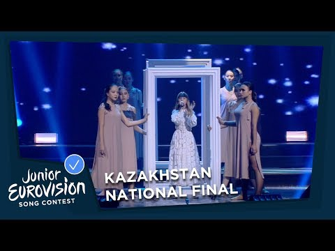 Daneliya Tuleshova - Өзіңе �ен - Kazakhstan - National Final Performance - Junior Eurovision 2018