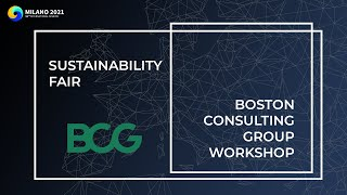 Sustainability Fair | Boston Consulting Group Workshop