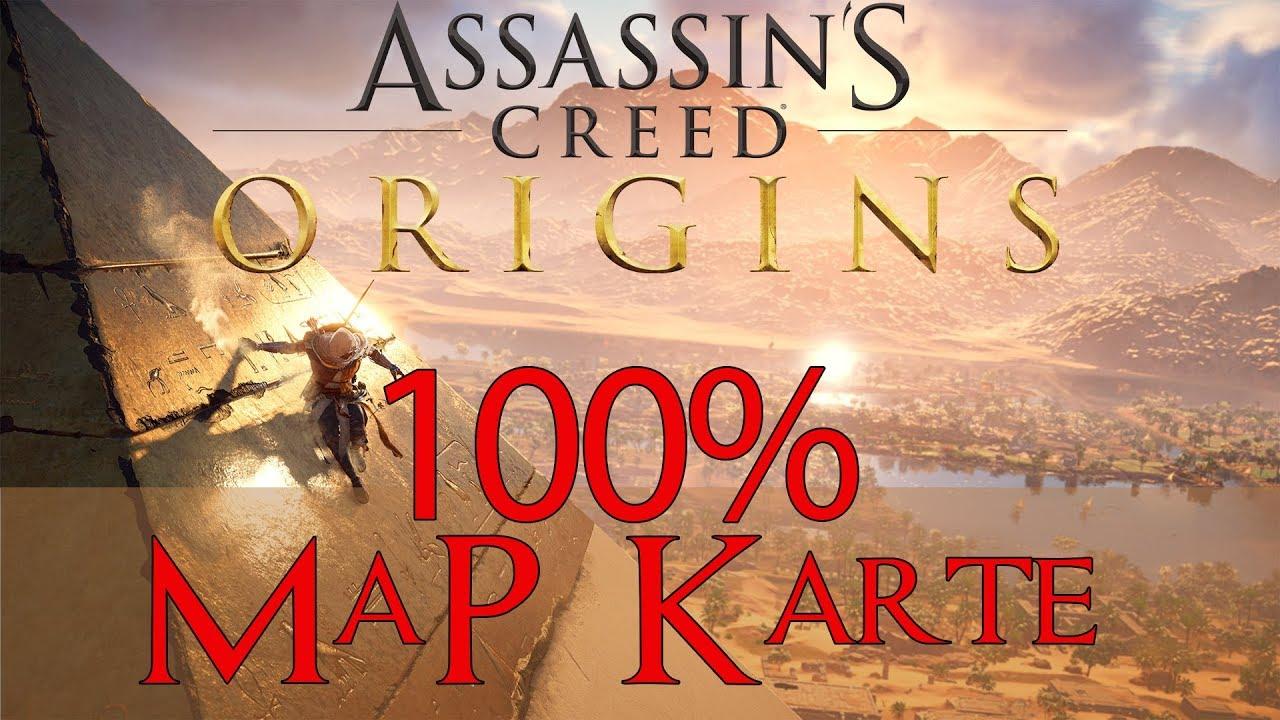 Assassins Creed Origins 100 Karte Alle Fragezeichen Alte