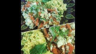 #Цукерман | Кулинарный стрим: Минтай с овощами и рис с куркумой [16.12.2016]
