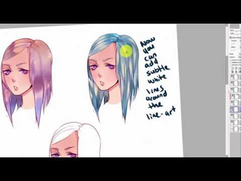 Hair Coloring Tutorial- 3 Different Ways to Color- PAINT ...