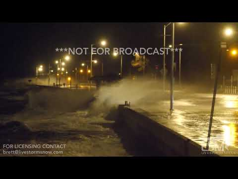 03-03-2018 Quincy, MA - Severe Flooding and Very Large Waves During Overnight High Tide