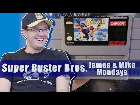 Super Buster Bros. (SNES) James and Mike Mondays