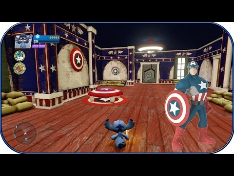 Disney Infinity 2.0 - Captain America Room! - Interiors - Ep. 18