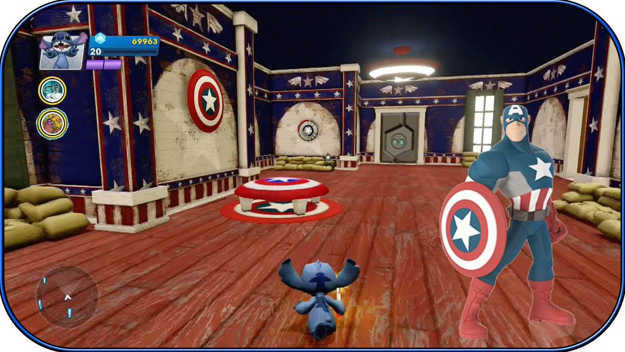 Disney Infinity 2.0   Captain America Room!   Interiors   Ep. 18   YouTube