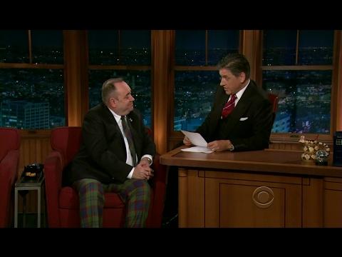 Late Late Show with Craig Ferguson 6/18/2012 Alex Salmond, Kelly MacDonald, Kevin McKidd