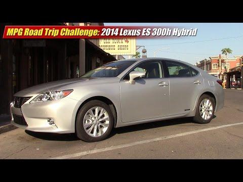 MPG Road Trip Challenge: 2014 Lexus ES300h Hybrid