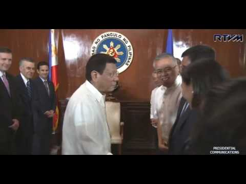 "DUTERTE NEWS:Courtesy Call of US Congressional Delegation to President Rodrigo ""Rody"" Duterte"