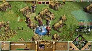 age of mythology the titans fantastic 4vs4 on marsh