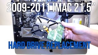 iMac Hard Drive Disk Replacement 2009 2010 2011 21 5