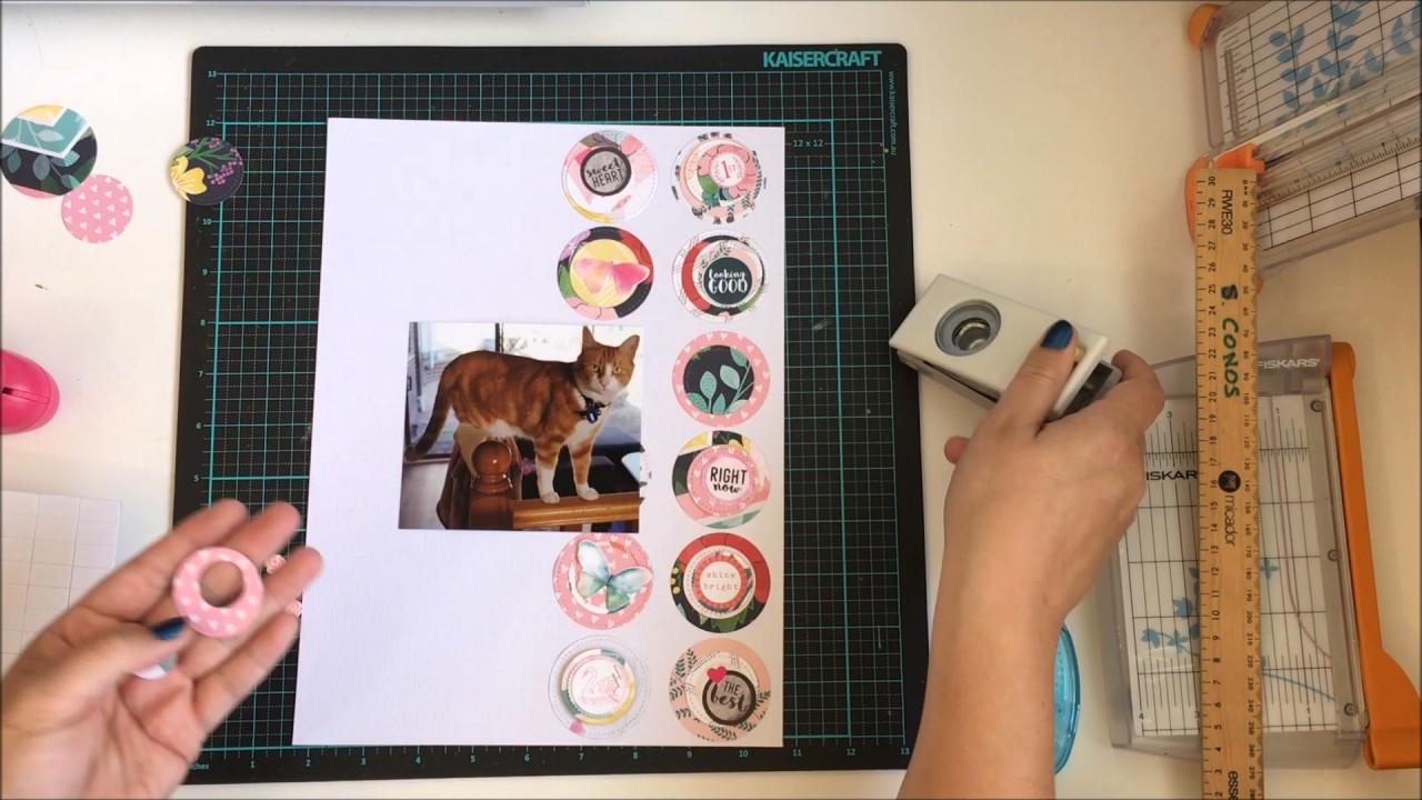 How to scrapbook on a mac - 9x12 Scrapbook Process Video Beautiful Mac