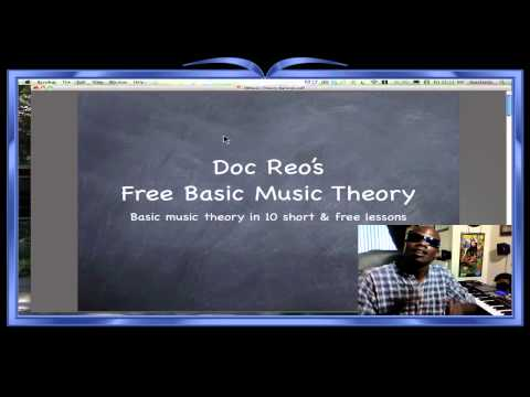 Free Basic Music Theory: Bar Lines