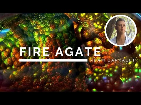 Fire Agate - The Crystal Of The Supporting Flame