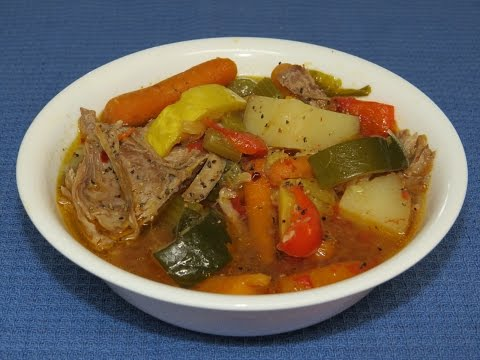 Crock-Pot Slow Cooker Recipe-Turkey Vegetable Soup