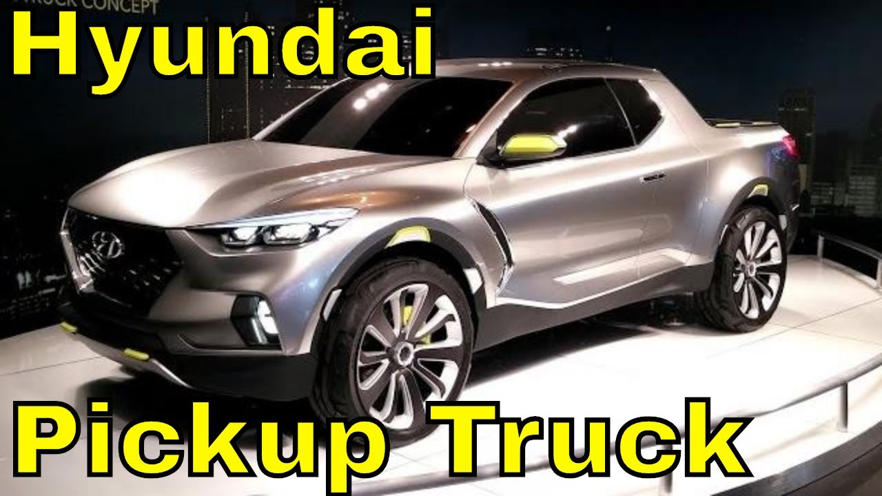 Hyundai Santa Cruz Crossover Pickup Truck Concept - YouTube