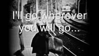 wherever you will go-the calling(with lyrics)