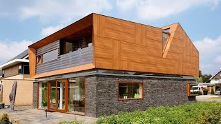 como construir una casa de madera en segundo piso
