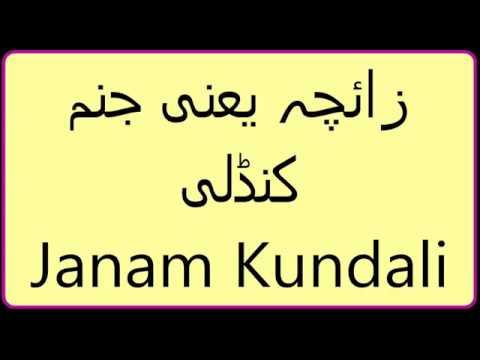 Vedic Astrology with Dr  Ali Imran- Janam Kundli Part 1 in Urdu