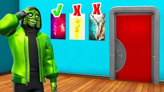 Trouvez le CORRECT PROP pour UNLOCK The Door! (Fortnite)