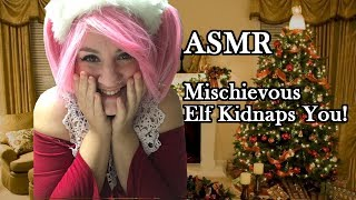 ASMR Peanut The Elf Kidnaps You (tapping, scratching, wind sou…