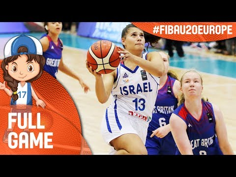 Israel v Great Britain - Full Game - FIBA U20 Women