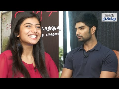 Atharva & Ananthi Speaks About Chandi Veeran | Tamil The Hindu