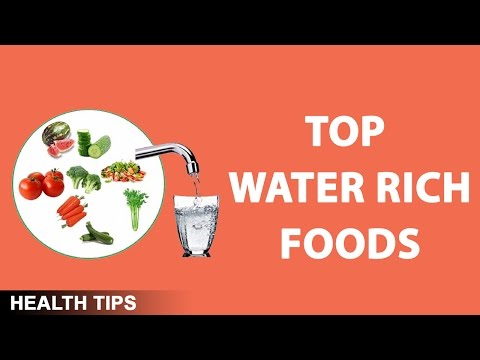 Top Foods With a High Water Content | Water Rich Foods |  What It Takes