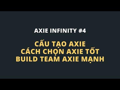 Cấu tạo Axie - Cách chọn Axie tốt - Build team Axie mạnh | Axie Infinity Game