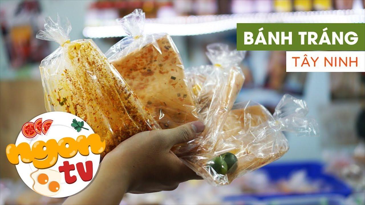 Cách ăn đúng điệu bánh tráng phơi sương Tây Ninh, bạn đã thử? || 360 ĐỘ NGON