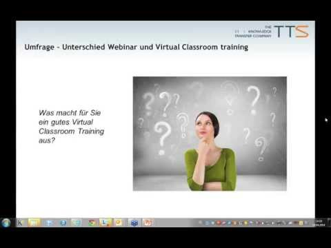Blended Learning im Virtual Classroom (Webinar)
