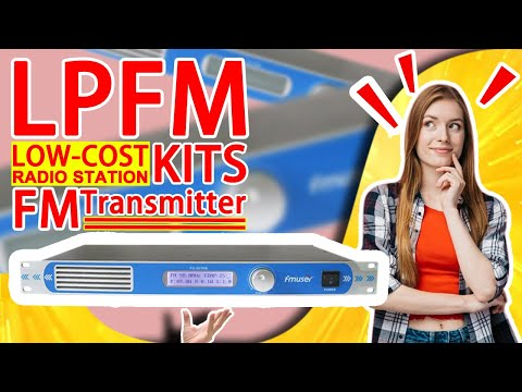 FMUSER 30w/50w FM Transmitter Set For FM Radio Station/Church Service/Parking Lot/Drive-in Cinema