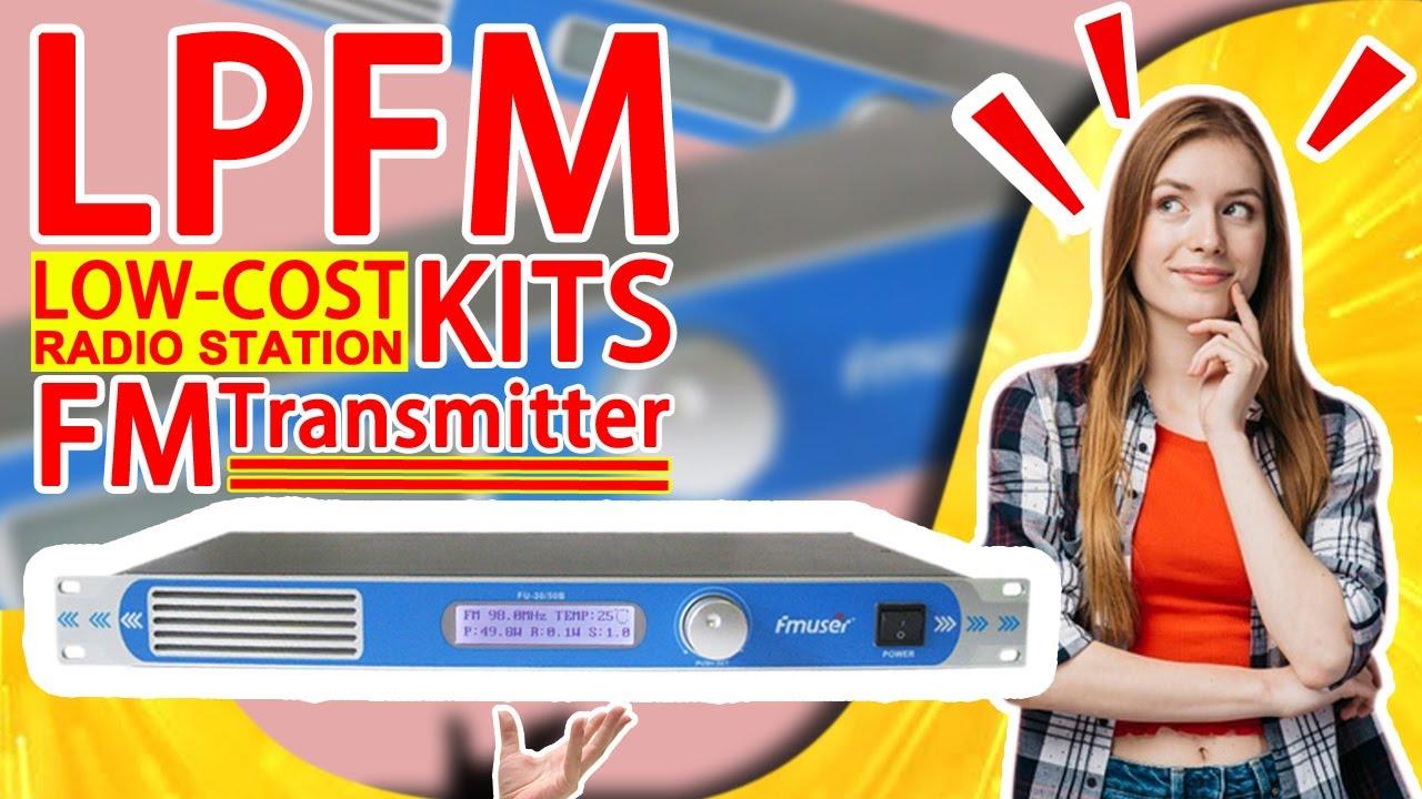 FMUSER 30w/50w FM Transmitter Broadcast FM Exciter for Building Mini FM  Radio Station