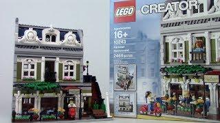 Lego Creator Parisian Restaurant 10243 Review