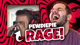 Reacting to the CRAZIEST Among Us Rage...