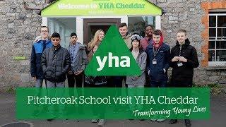 Pitcheroak School visit YHA Cheddar | Transforming young lives
