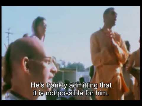 Prabhupada 0335 - Educating People to Become First-class Yogi
