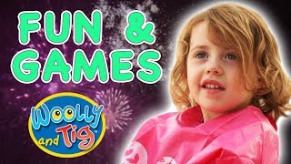 Woolly and Tig - Fun and Games | Kids TV Show | Toy Spider