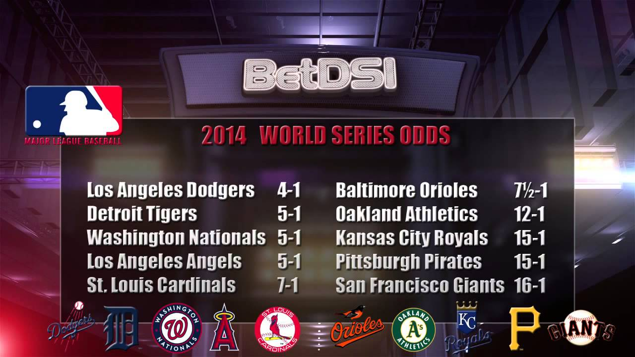 Mlb series betting lines pari mutuel betting football spread