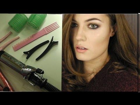 Voluminous Kate Middleton hair tutorial