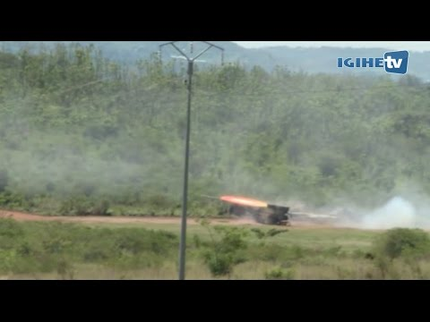 President Kagame attends RDF Combined Fire Arms Exercise