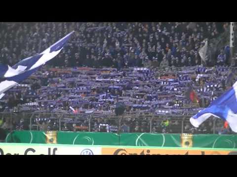 Badnerlied mit Tony Marshall KSC - Freiburg DFB Pokal 18.12.2012
