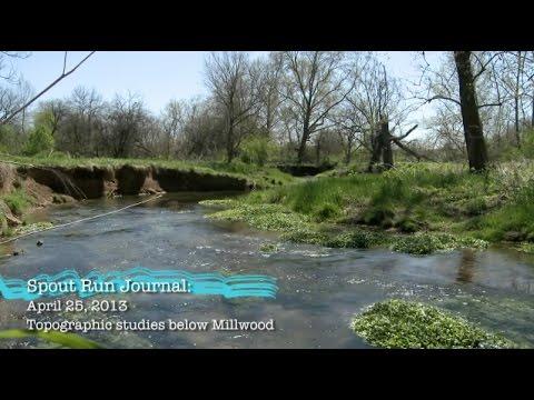 Spout Run Journal April 2013: Topographic Studies