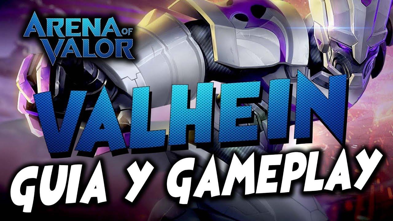 Arena of valor NAKROTH Guia y Gameplay ARCANAS Y TOP BUILD
