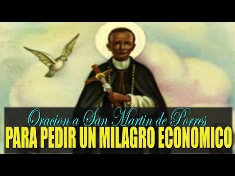 Oración Milagrosa a San Martín de Porres, para pedir Dinero Urgente.