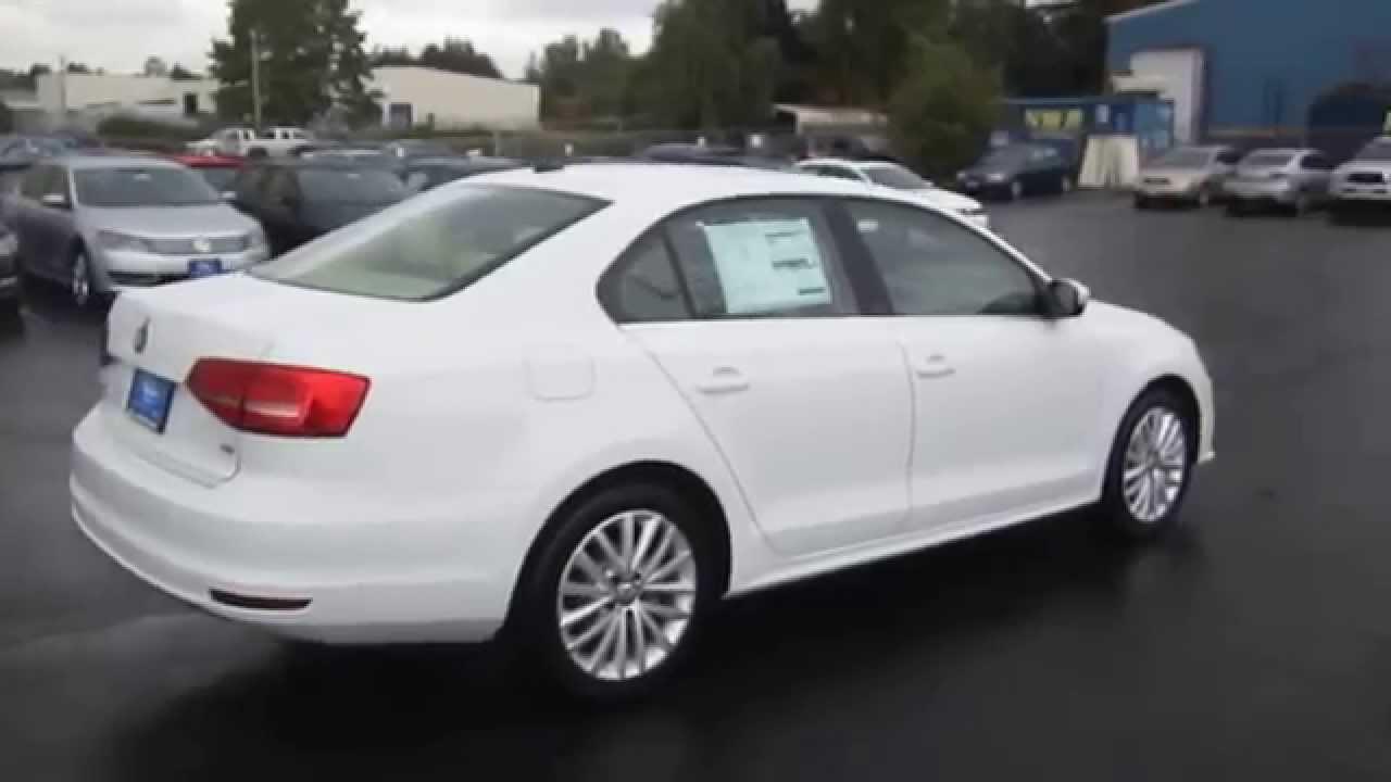 2015 Volkswagen Jetta, Pure White - STOCK# 110137 - Walk around - YouTube