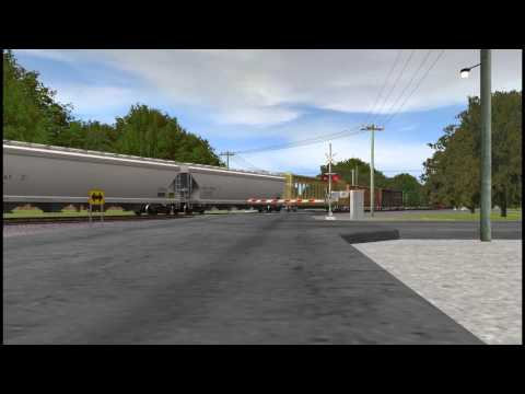 ATSF #991 East - Trainz Simulator 12 by Scott Fitzpatrick