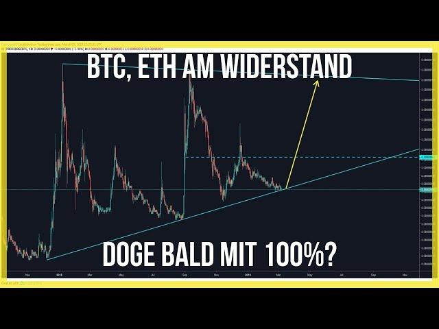 3860 Bitcoin & Ethereum abwärts?😳 Doge & Stratis werden spannend