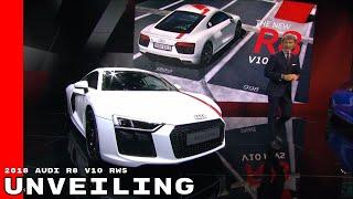 2018 Audi R8 V10 RWS - Rear Wheel Drive Unveiling